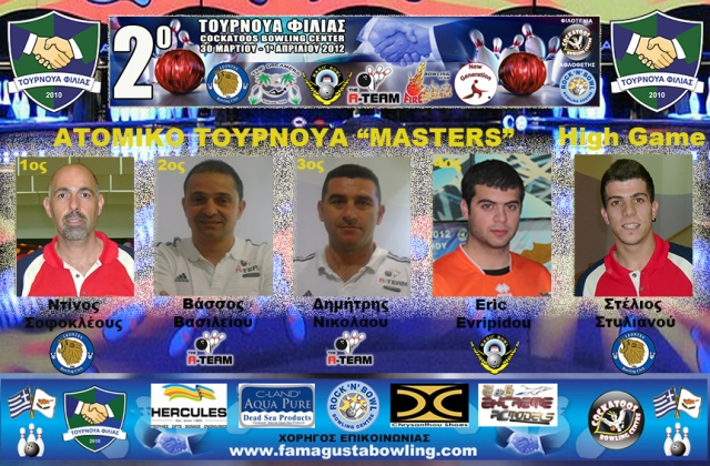 Article for Winners of MASTERS_2012